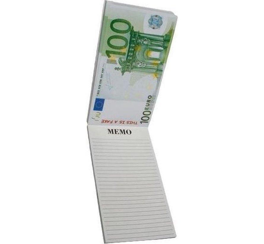 Topwrite Notebook Letter Money 100 Euro