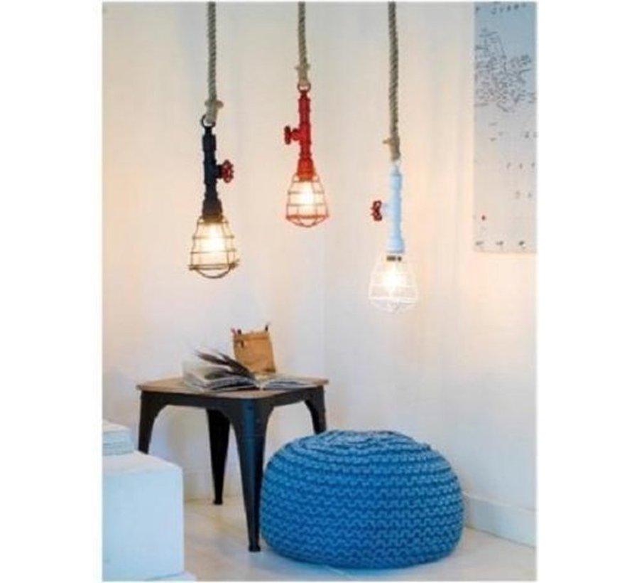 hanglamp - brandweerslang - pendant light