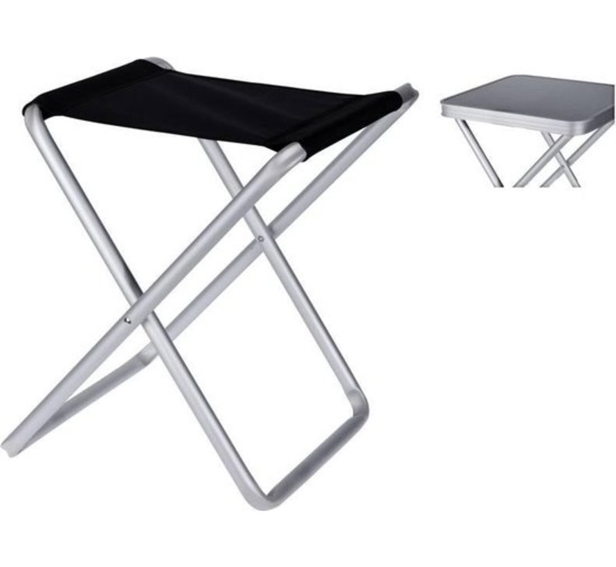 Folding Stool with table