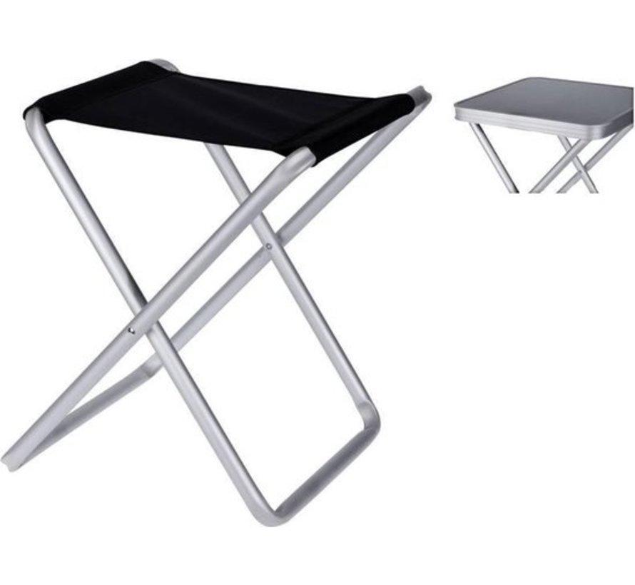 Klapphocker mit Tisch