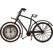 Van Manen - fietsklok - metaal - roestlook - 38,5 x 25 cm
