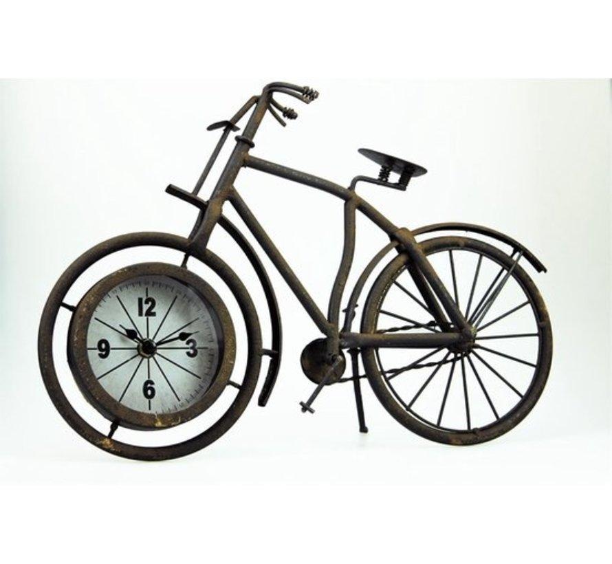 Von Moons - Fahrradklingel - Metall - Rost-Look - 38,5 x 25 cm