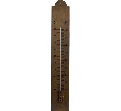 Van Manen Thermometer 60x10x6,5 Cm Metaal