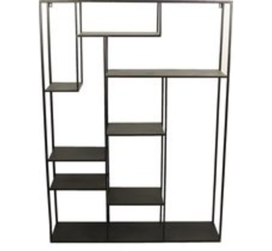 Country Inn North Bay Rack schwarz 110x28x150cm