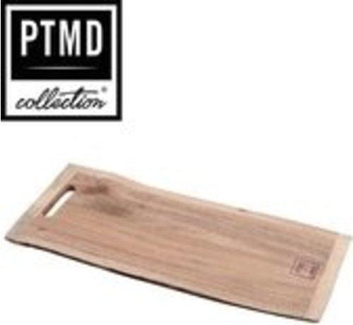 PTMD® Snijplank / Dienblad / Decoratief Plateau van mangohout 58 x 25 cm | type Myko dikte 16 mm