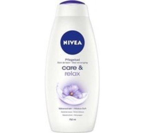 1 Nivea Badcrème – Relaxing Moments 750 ml