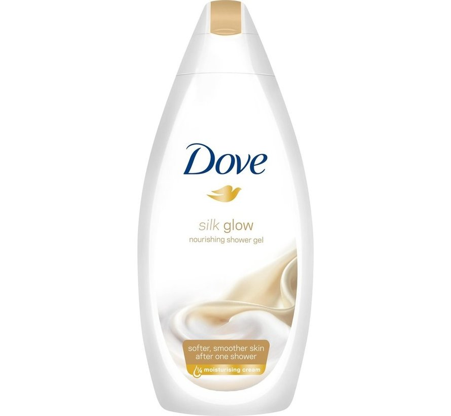 Dove Silk Glow - 500 ml - Douchecrème