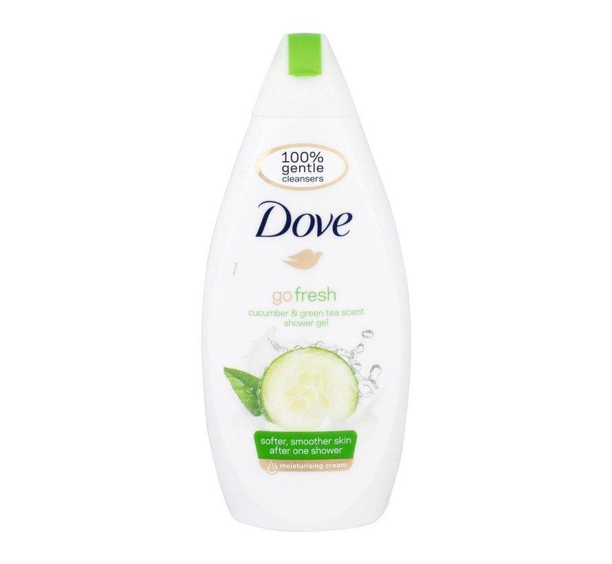 Dove Go frische Note Frauen - 500ml - Shower Gel