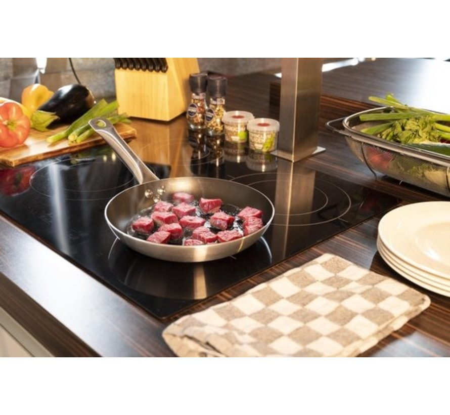 Alpina Frying Pan - 24cm - non-stick coating - all heat sources