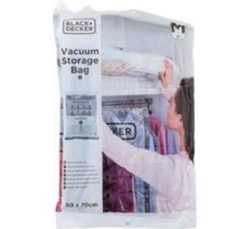 Black & Decker Vakuum-Aufbewahrungsbeutel 50 x 70 cm Transparent