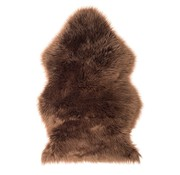 Decostar Brown art coat / sheepskin 90 x 60 cm