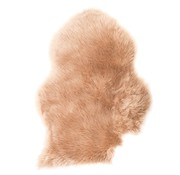 Decostar Beige art coat / sheepskin 90 x 60 cm