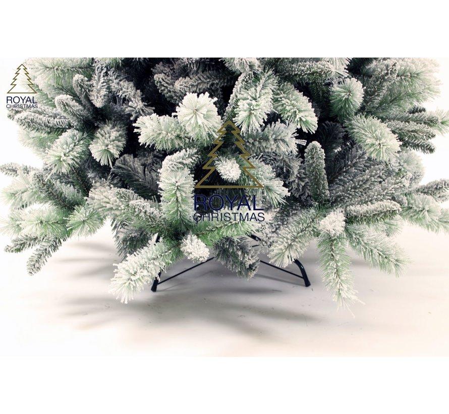 Kunstkerstboom 210cm met sneeuw | model Clinton