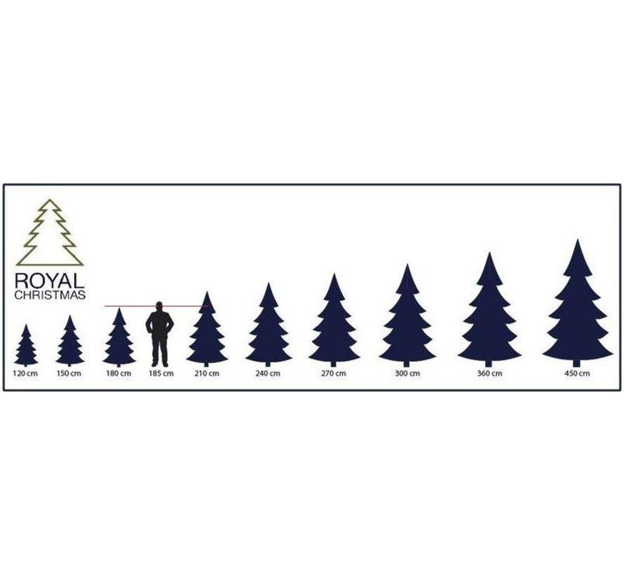 Kunstkerstboom 180cm met sneeuw   model Clinton