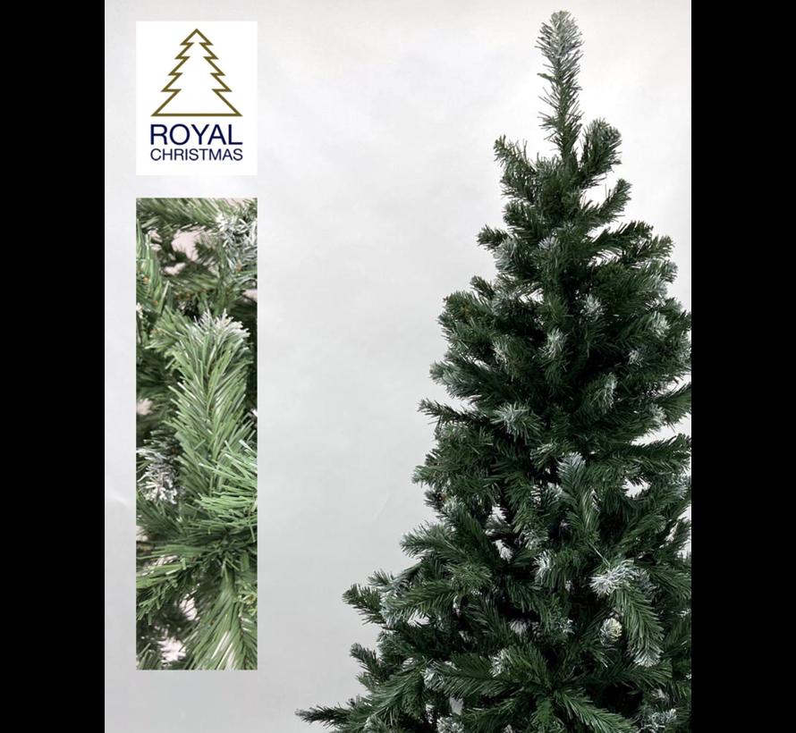 Kunstkerstboom Dakota - licht besneeuwd - 240 cm | Royal Christmas®