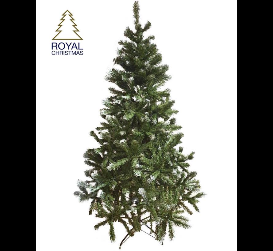 Künstlicher Weihnachtsbaum Dakota - Licht Schnee - 240 cm   Royal Christmas®