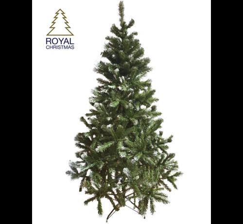 Royal Christmas Künstlicher Weihnachtsbaum Dakota - Licht Schnee - 210 cm | Royal Christmas®