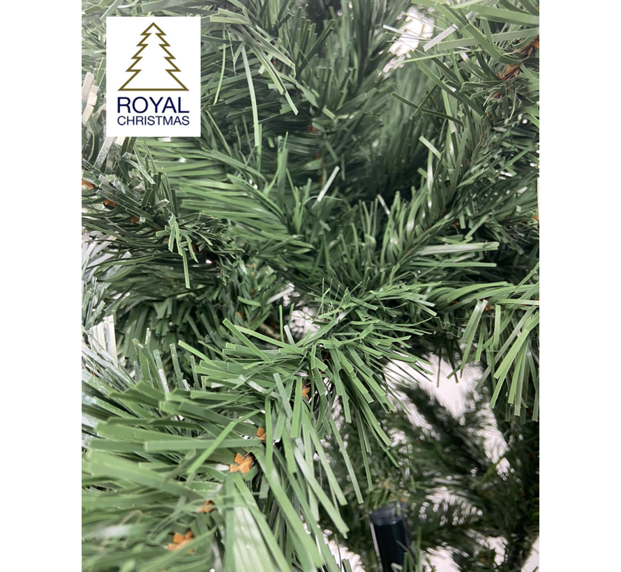 Künstlicher Weihnachtsbaum Dakota - Licht Schnee - 210 cm | Royal Christmas®