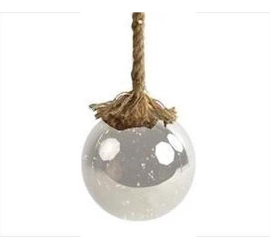 Christmas Lights / Christmas LED Ø15 cm · Rahel Glashelder · hangs on decorative rope 95 cm
