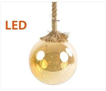 Decostar Christmas Lights / Christmas LED Ø15 cm · Rahel Gold