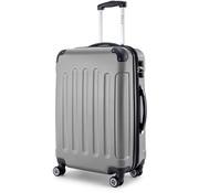 SHAIK® SHAIK® Koffer Butterfly Grijs Large 75 liter