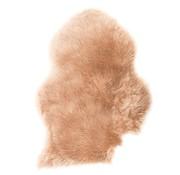 Decostar Small cream art coat / sheepskin 45 x 28 cm