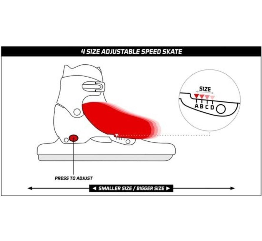 Norwegians skate Jr3414 38-41 adjustable.