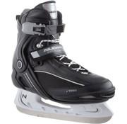 Nijdam Nijdam 3350 Ice Hockey Skates - Semi Soft-Stiefel - Schwarz / Weiß - Größe 45