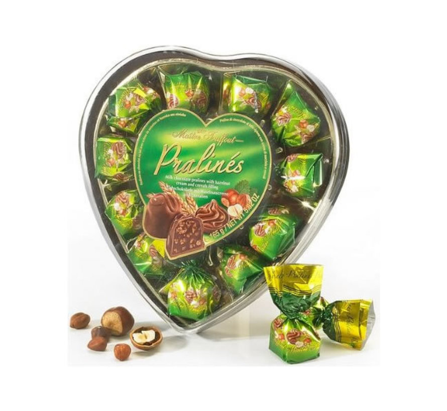 Chocolade in hart