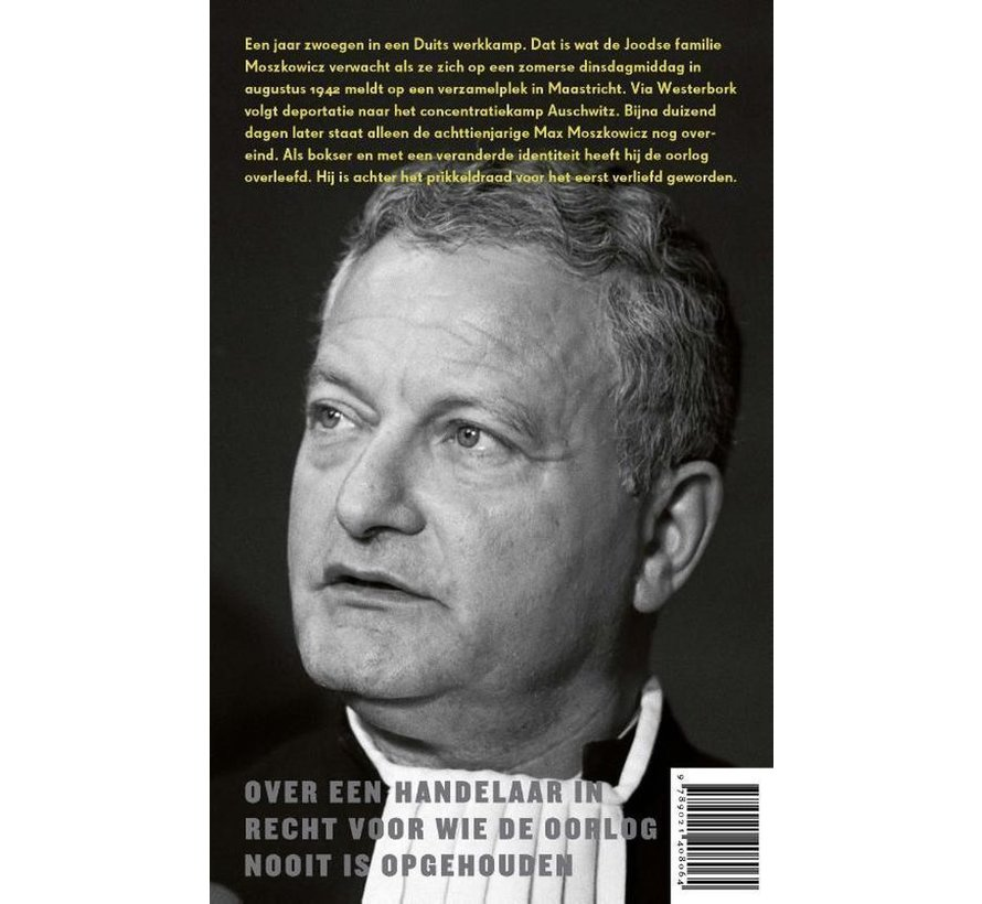De bokser van Marcel Haenen   Paperback van 464 pagina's