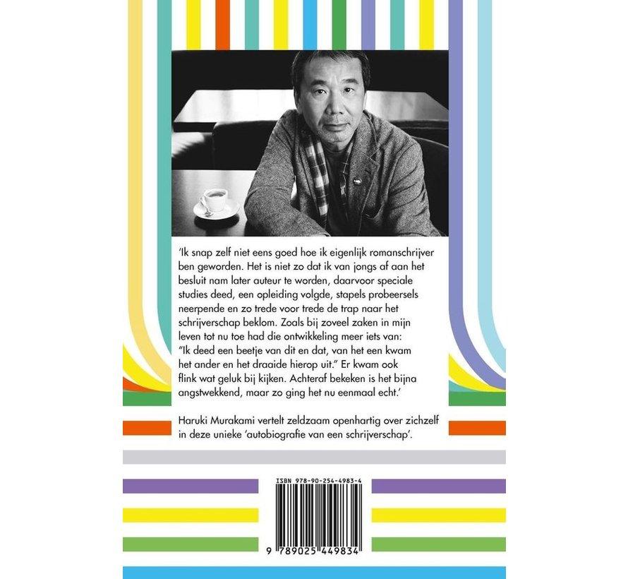 Romanschrijver van beroep van Haruki Murakami | Paperback van 256 pagina's