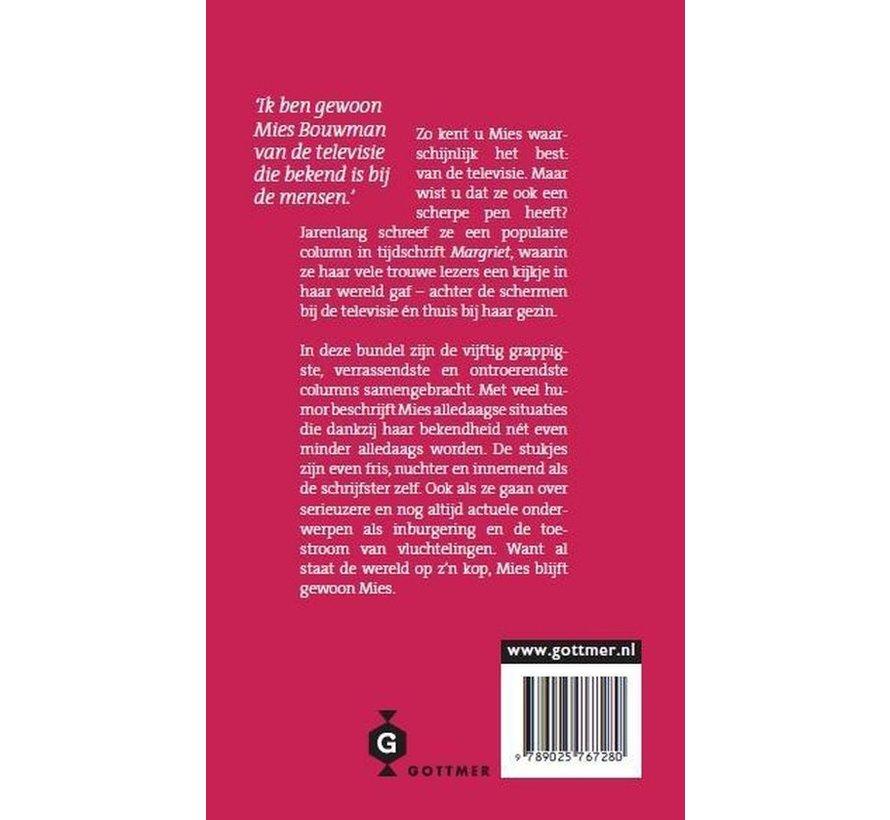Gewoon Mies van Mies Bouwman | Paperback van 184 pagina's