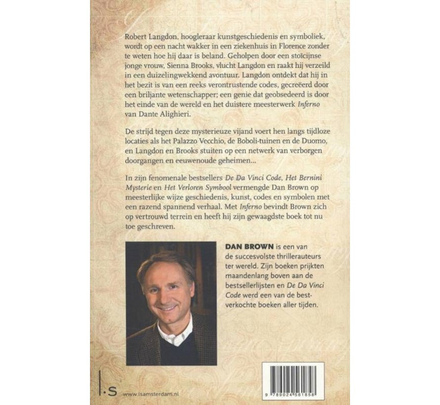 Inferno van Dan Brown | Paperback van 478 pagina's