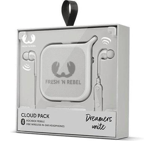 Fresh 'N Rebel Cloud Pack Mono Draadloze Luidspreker Grijs