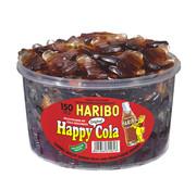 Haribo 150 stuks HARIBO Happy Cola Flesjes