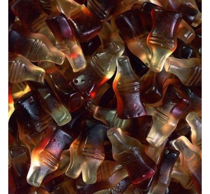 150 stuks HARIBO Happy Cola Flesjes