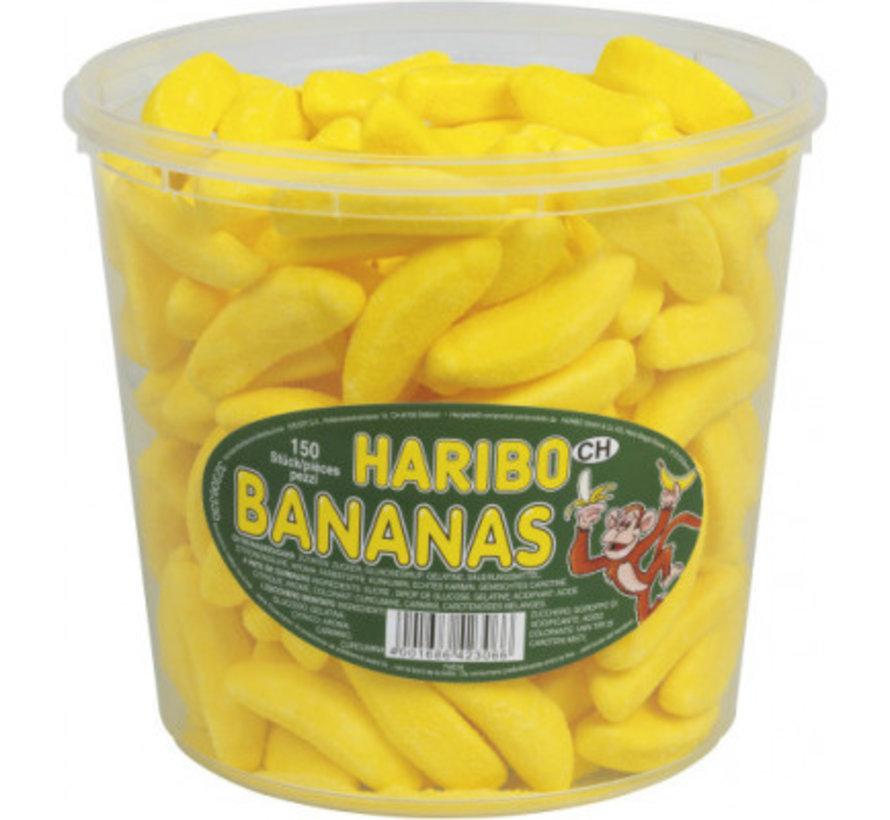 150 stuks HARIBO Bananas
