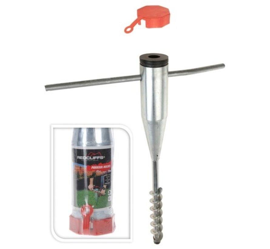 Redcliffs Metalen Parasolhouder - voor Parasol Van 25 Tot 55 Mm