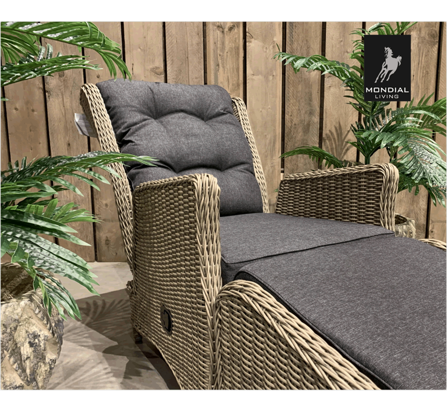 Bombay lounge stoel + GS HM96 FOREST GREY / 239