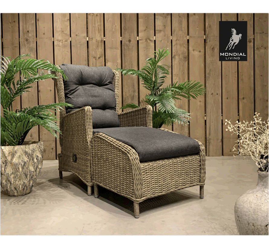 Bombay Lounge Chair | Forest Grey