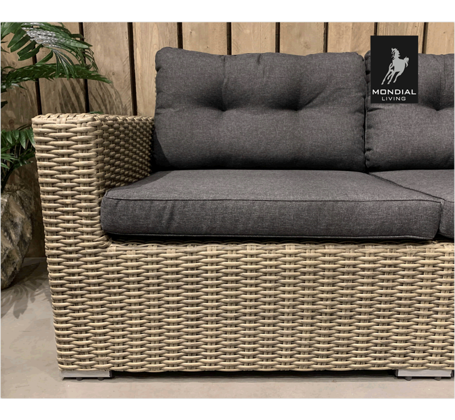 Garonne loungeset HM96-10 FOREST GREY / 239