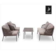 Mondial Livin Lennox Lounge 4 people | 2 chairs, table and 2 seater bench