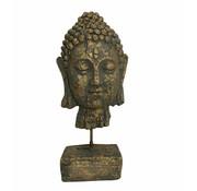 Buddha Green & Gold 39 cm