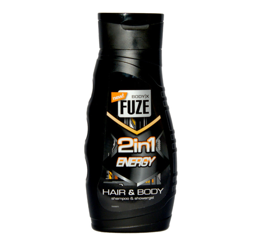 Körper-X Fuze Body & Hair Wash 300ml Energie