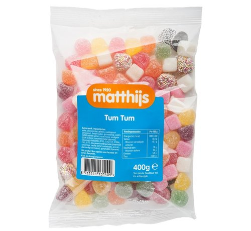 snoepgoed Tumtum 400 gram