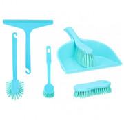 Lifetime Clean Schoonmaakset 6 Stuks Blauw Kunststof
