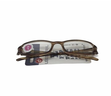 Reading glasses black-Brown | Read Strength 1:00