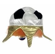Orange Football Crown / Hat   Party favors for Ek Football 2020