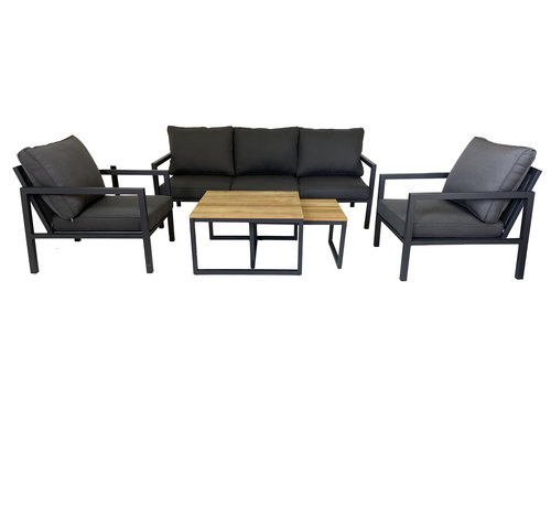 Mondial Living 5-persoons Sofaset Palazzo | Incl. 2 kleine tafels