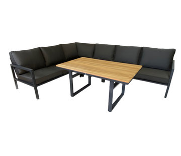 Mondial Living 6-persoons Loungeset Palazzo | Incl. tafel 140 x 86 cm